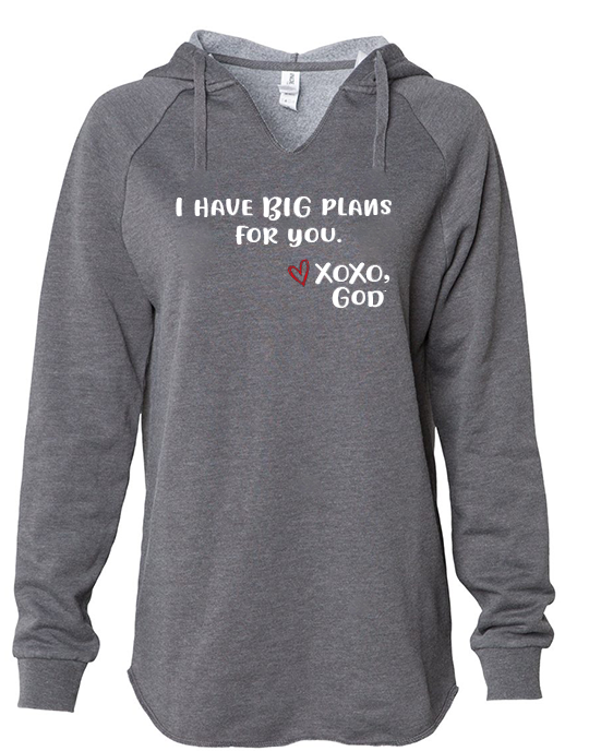 Women's Hoodie - I have BIG plans for you.