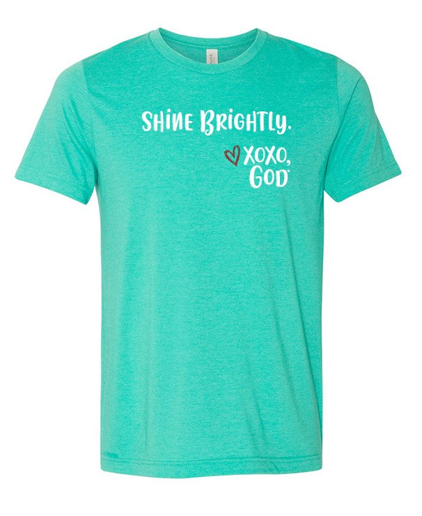 Unisex Tee -Shine Brightly!  New Summer Colors!