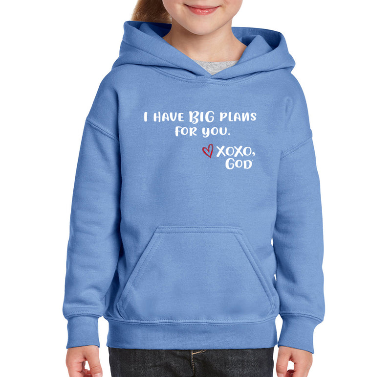 Youth Unisex Hoodie - I have BIG plans for you.