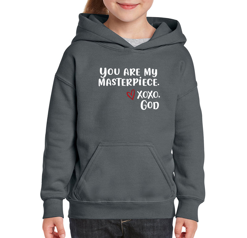 Youth Unisex Hoodie - You are my Masterpiece.