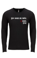 Load image into Gallery viewer, Unisex Long Sleeve - You make me smile.