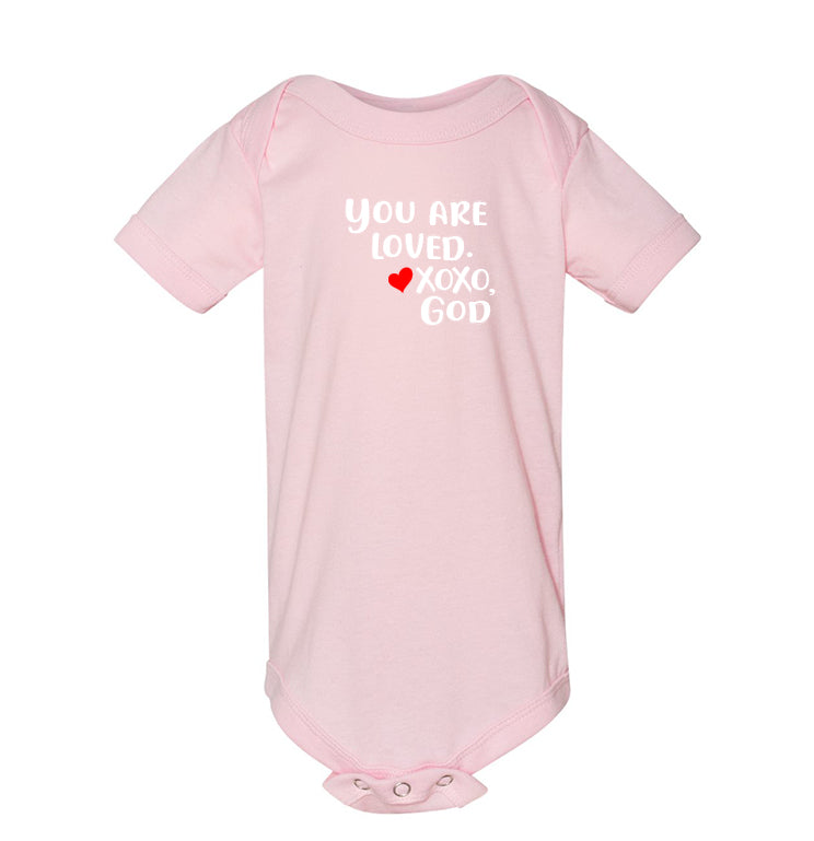 Infant/Toddler Onesie - You are loved.