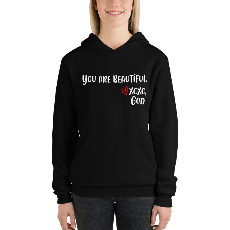 Unisex Hoodie - You are beautiful.