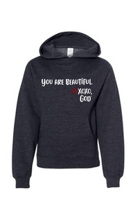 Youth Hoodie - You are Beautiful.