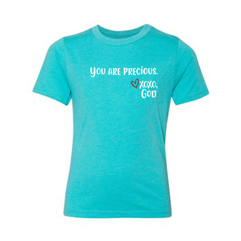 Youth unisex Short Sleeve Tee - You are precious.