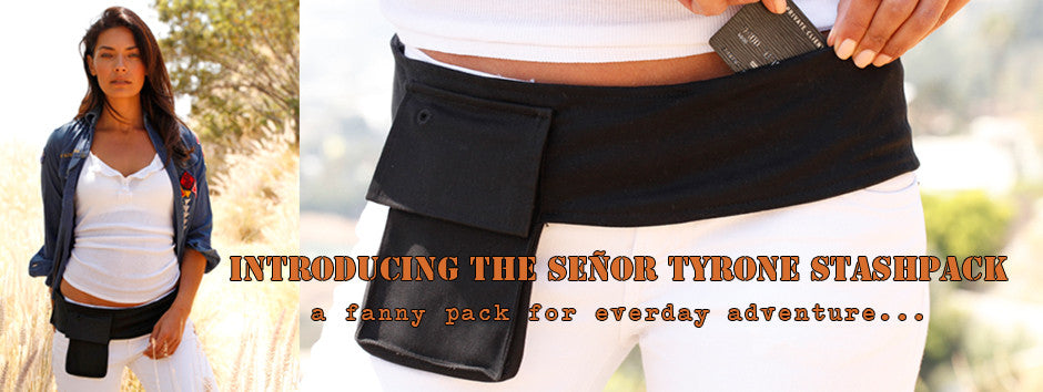 senor tyrone hipster fanny pack