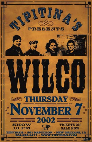 Wilco Poster (2002)