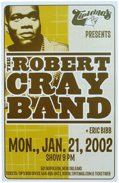 The Robert Cray Band Poster (2002)