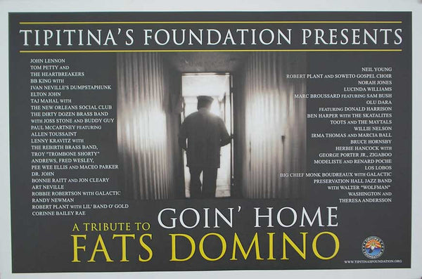 "Fats Domino ""Goin' Home"" Poster, 2007"