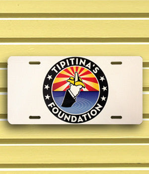 Tipitina's Foundation Vanity License Plate