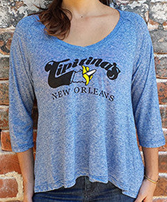 Ladies' Microburn Raglan Tee- XL only- CLEARANCE SALE!