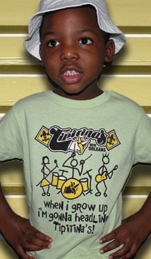 Tipitina's Toddler T-Shirt- SUMMER CLEARANCE SALE