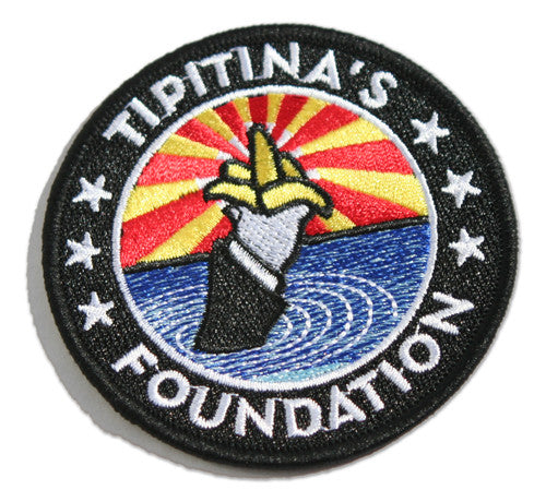 Embroidered Tipitina's Foundation Patch