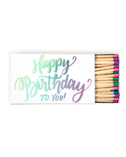 Happy Birthday To You Matchbox - Hattan Home - 1