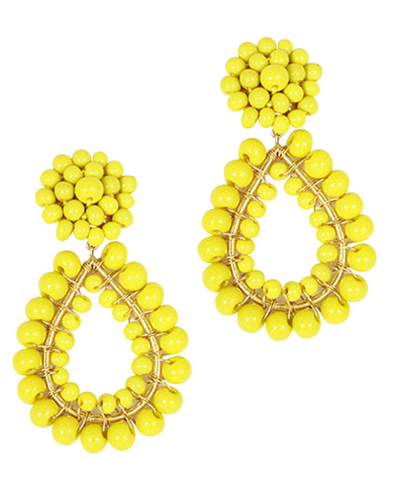 Lisi Lerch Margo Earrings in Lemon