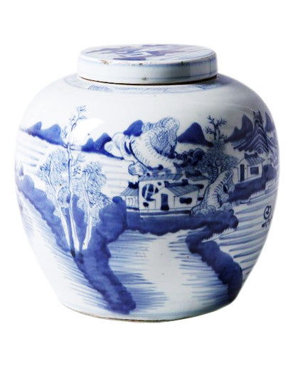 Blue & White Ancestor Jar