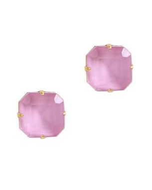 Loren Hope Sophia Studs in Blush Pink - Hattan Home - 1