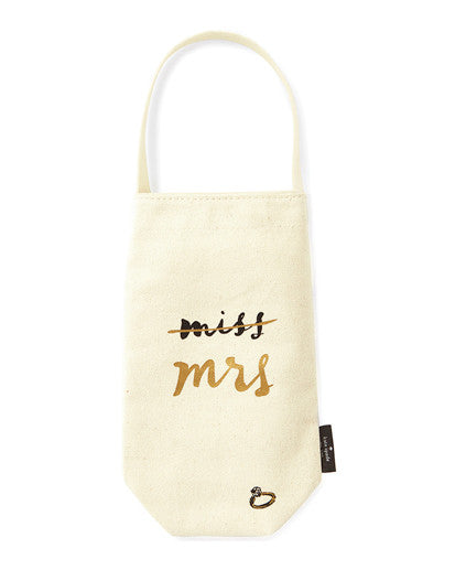 Kate Spade Miss to Mrs. Bridal Wine Tote - Hattan Home - 1