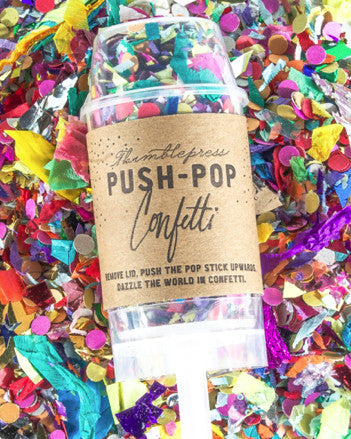 Thimble Press Push-Pop Confetti - Hattan Home - 1