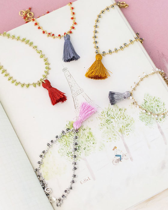 Violet & Brooks Party Tassel Bracelets
