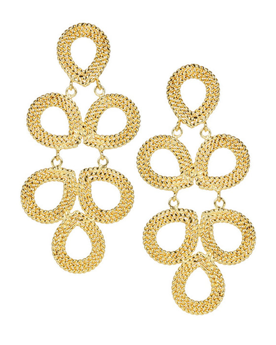 Lisi Lerch Ginger Earrings in Gold