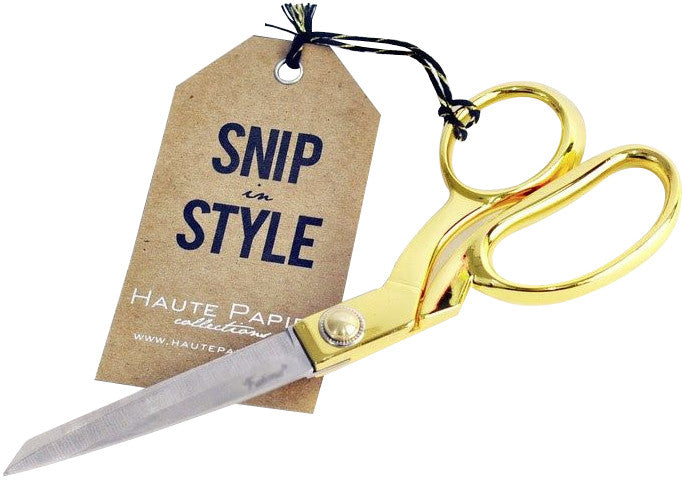 Gold Scissors - Hattan Home - 2