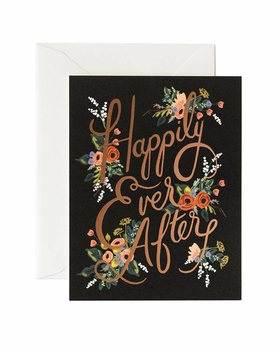 Rifle Paper Eternal Happily Ever After Card