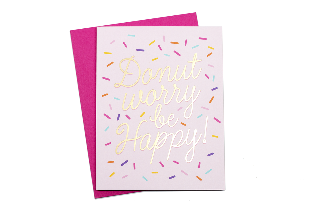Donut Worry Card - Hattan Home - 4