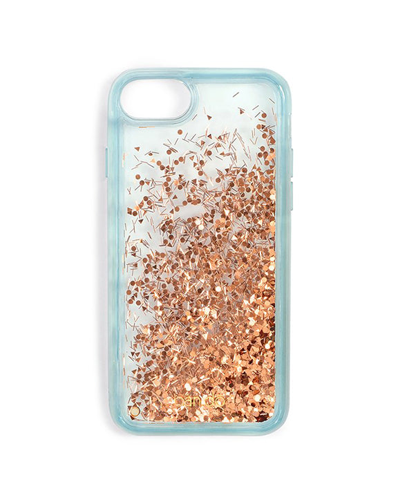 Ban.do Glitter Bomb iPhone Plus Case in Ice Blue