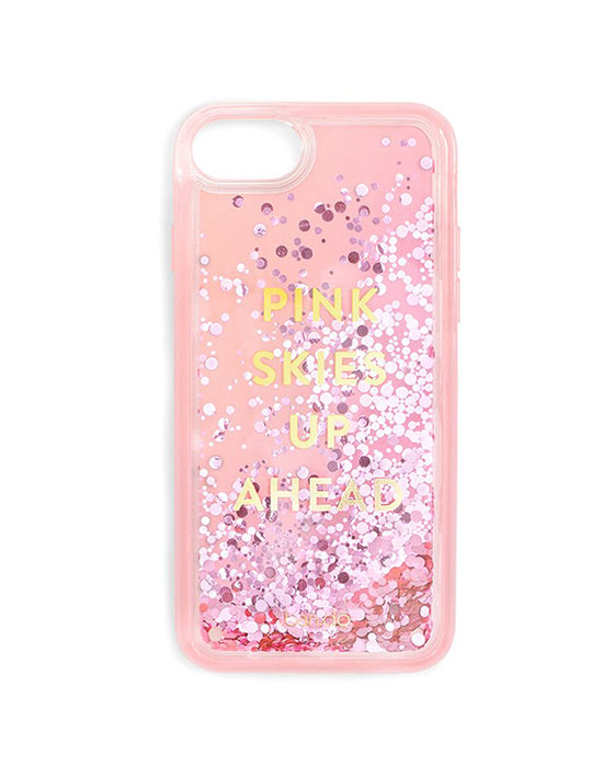 Ban.do Glitter Bomb iPhone Plus Case in Pink Skies Up Ahead
