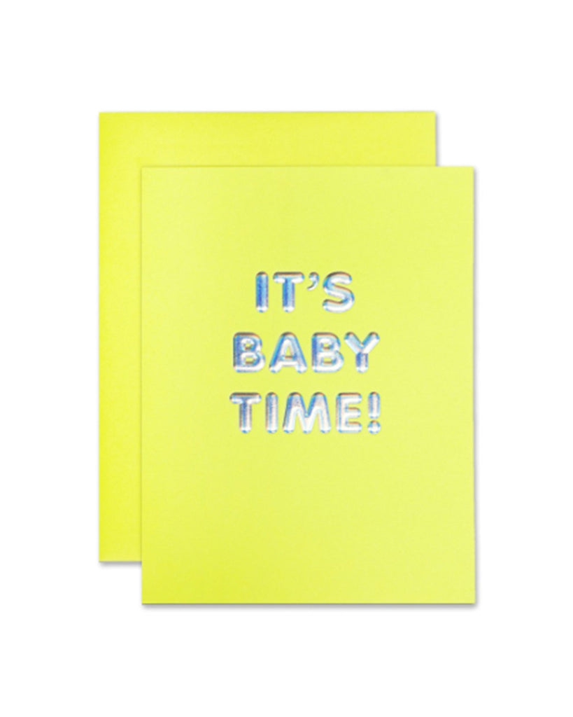 It's Baby Time! Card - Hattan Home