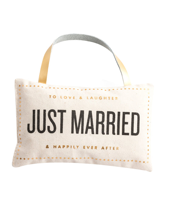 Rosanna Just Married Door Pillow Just Married
