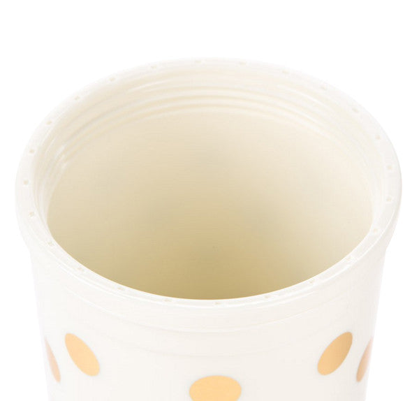 Kate Spade New York Gold Polka Dot Tumbler - Hattan Home - 8