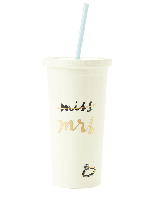 Kate Spade New York Miss to Mrs Insulated Tumbler