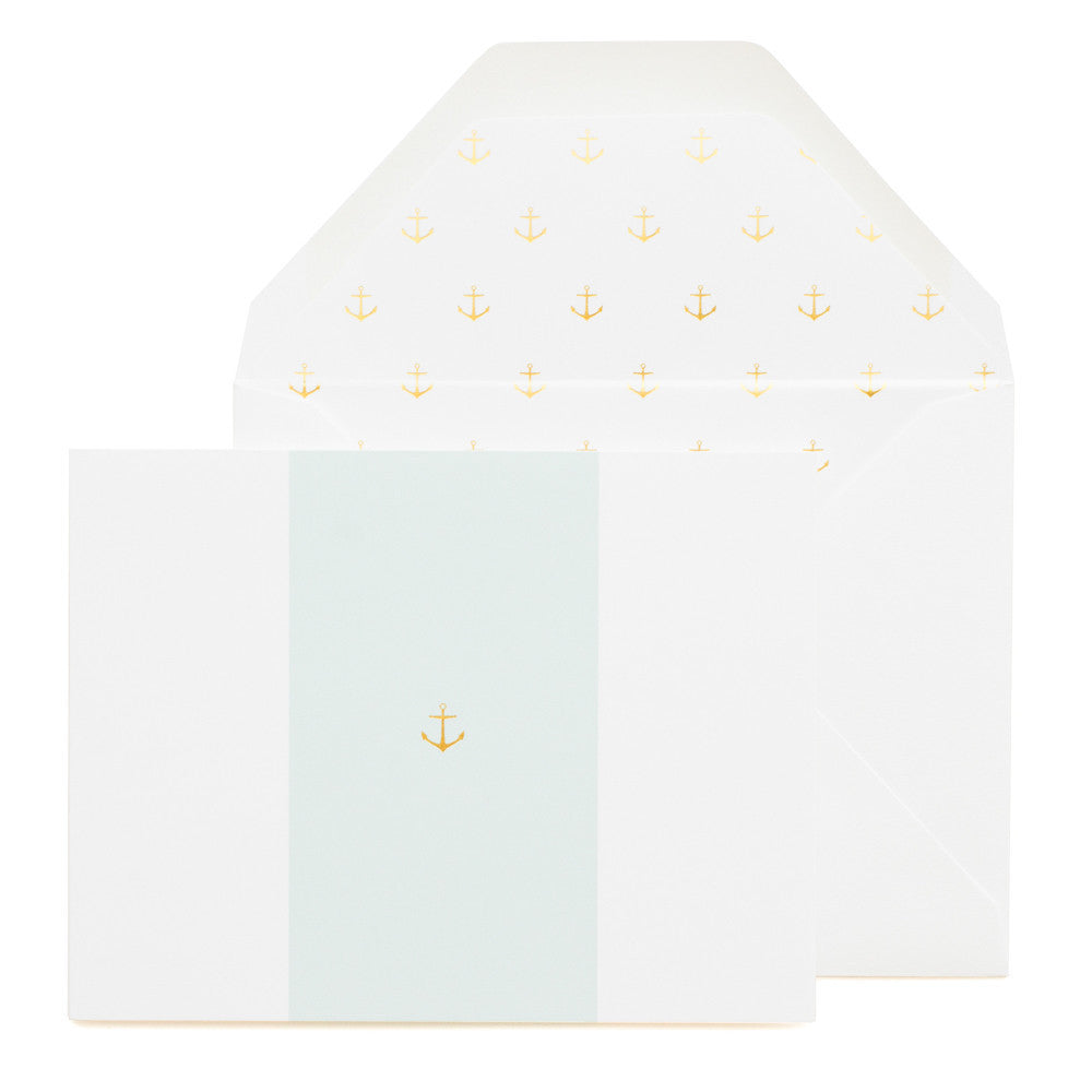 Sugar Paper LA Anchor on Blue card - Hattan Home - 3