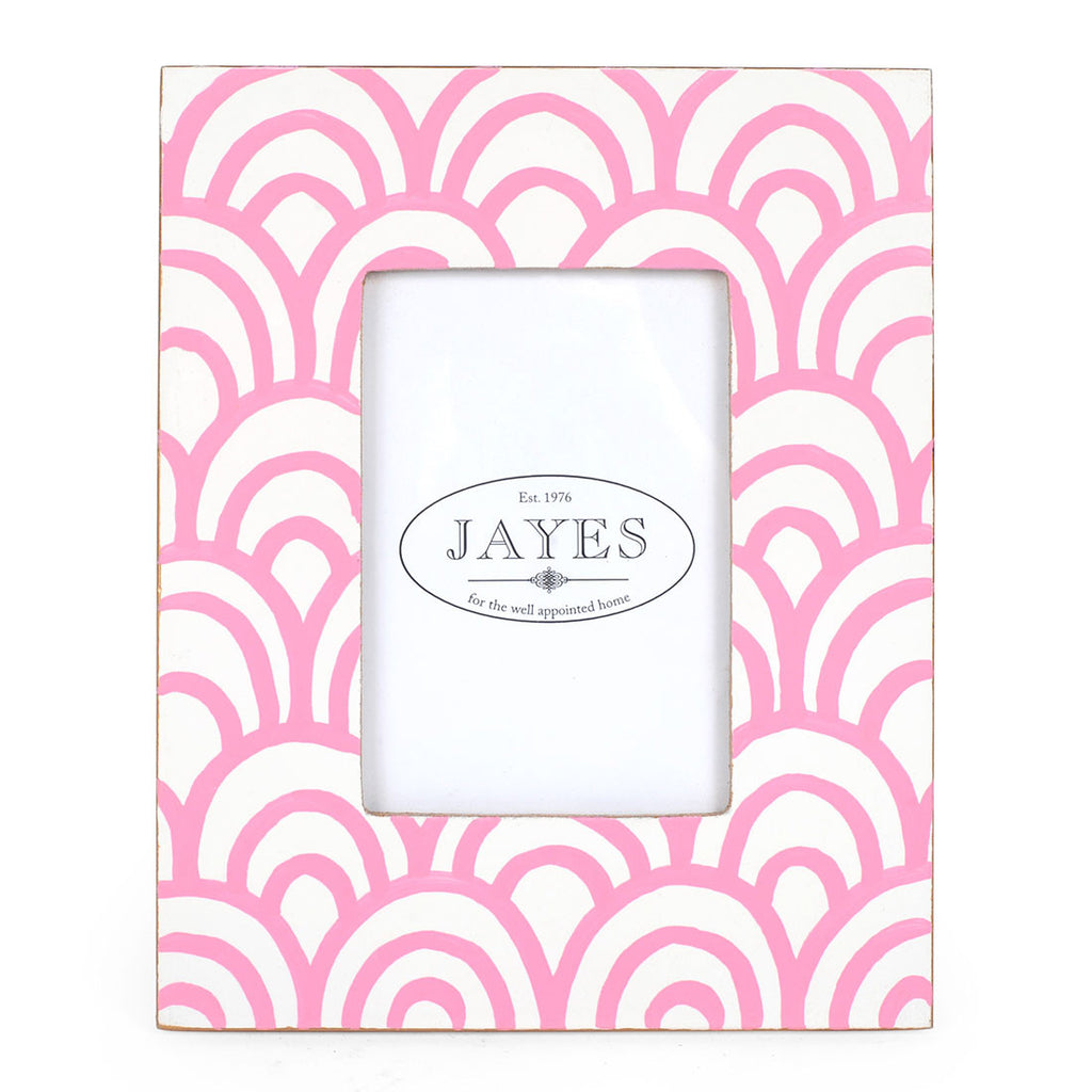Tole Pink Scales Photo Frame - Hattan Home - 3