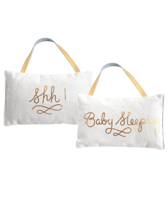 Rosanna Sleeping Baby Door Pillow
