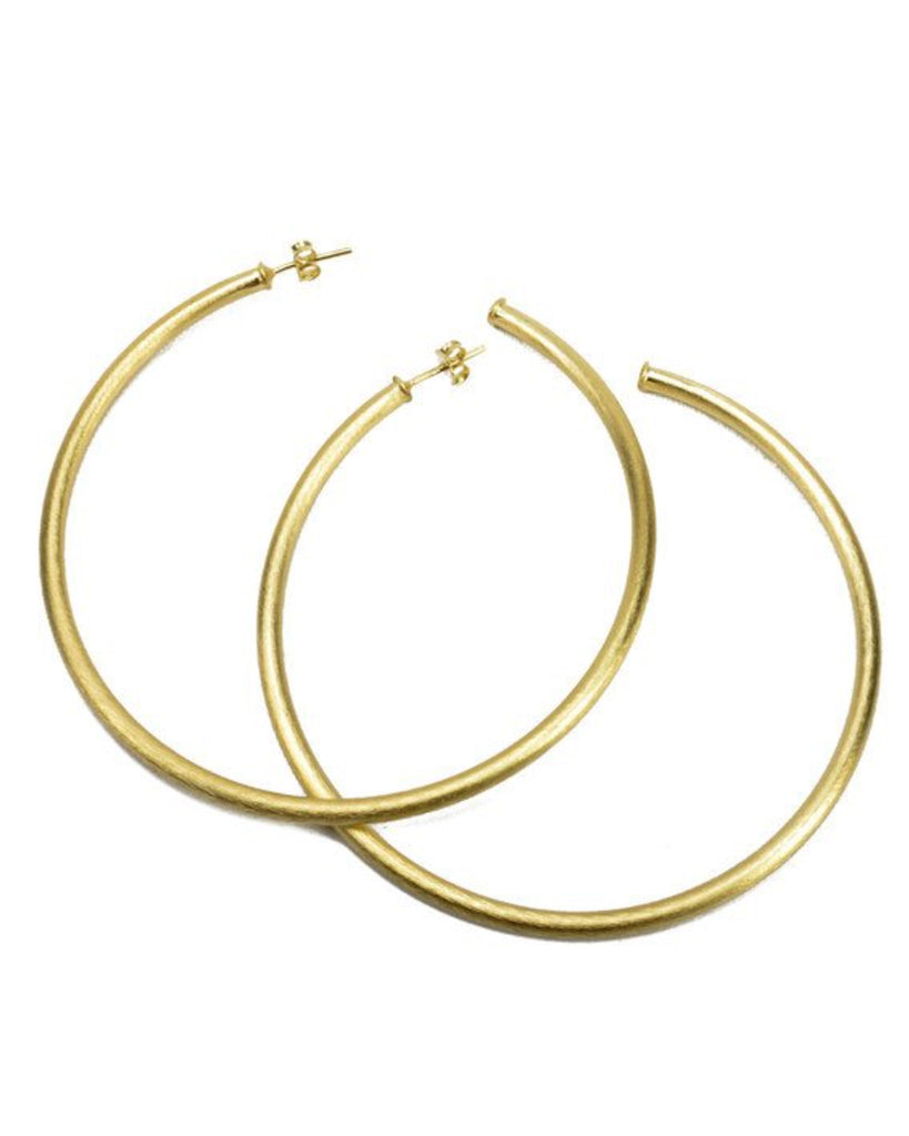 Sheila Fajl Stella Hoop Earrings - Hattan Home - 2