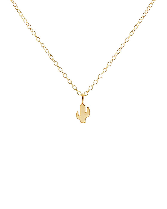 Kris Nations Saguaro Cactus Charm Necklace