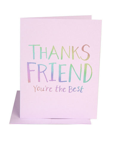 Thanks Friend Card - Hattan Home - 1