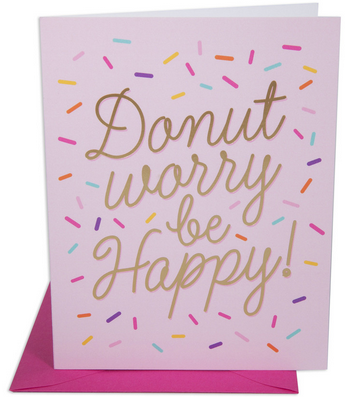 Donut Worry Card - Hattan Home - 3
