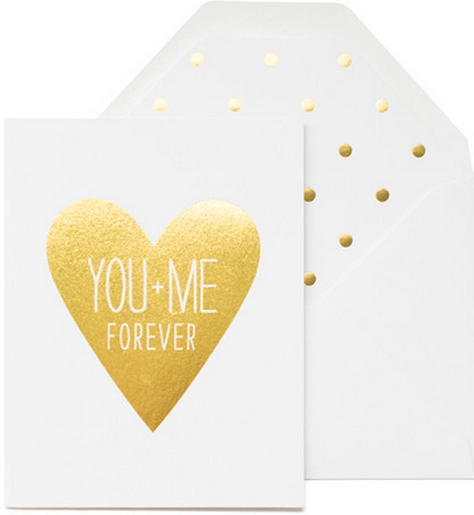 Sugar Paper LA You + Me Card - Hattan Home - 2