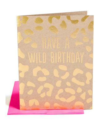 Have A Wild Birthday Card - Hattan Home - 1