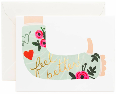 Rifle Paper Feel Better Card - Hattan Home - 2
