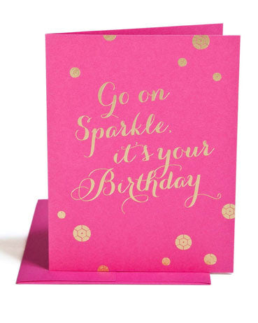 Go on Sparkle It's Your Birthday - Hattan Home - 1