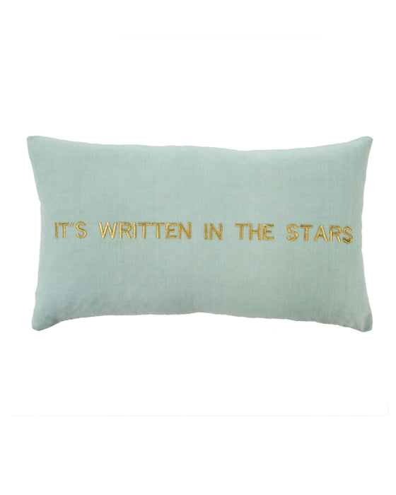 India It's Written in the Stars Throw Pillow