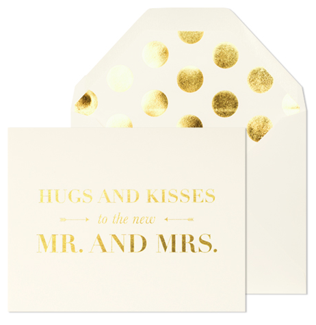 Sugar Paper LA Hugs and Kisses to the Mr. and Mrs. Card - Hattan Home - 2