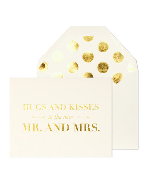 Sugar Paper LA Hugs and Kisses to the Mr. and Mrs. Card - Hattan Home - 1