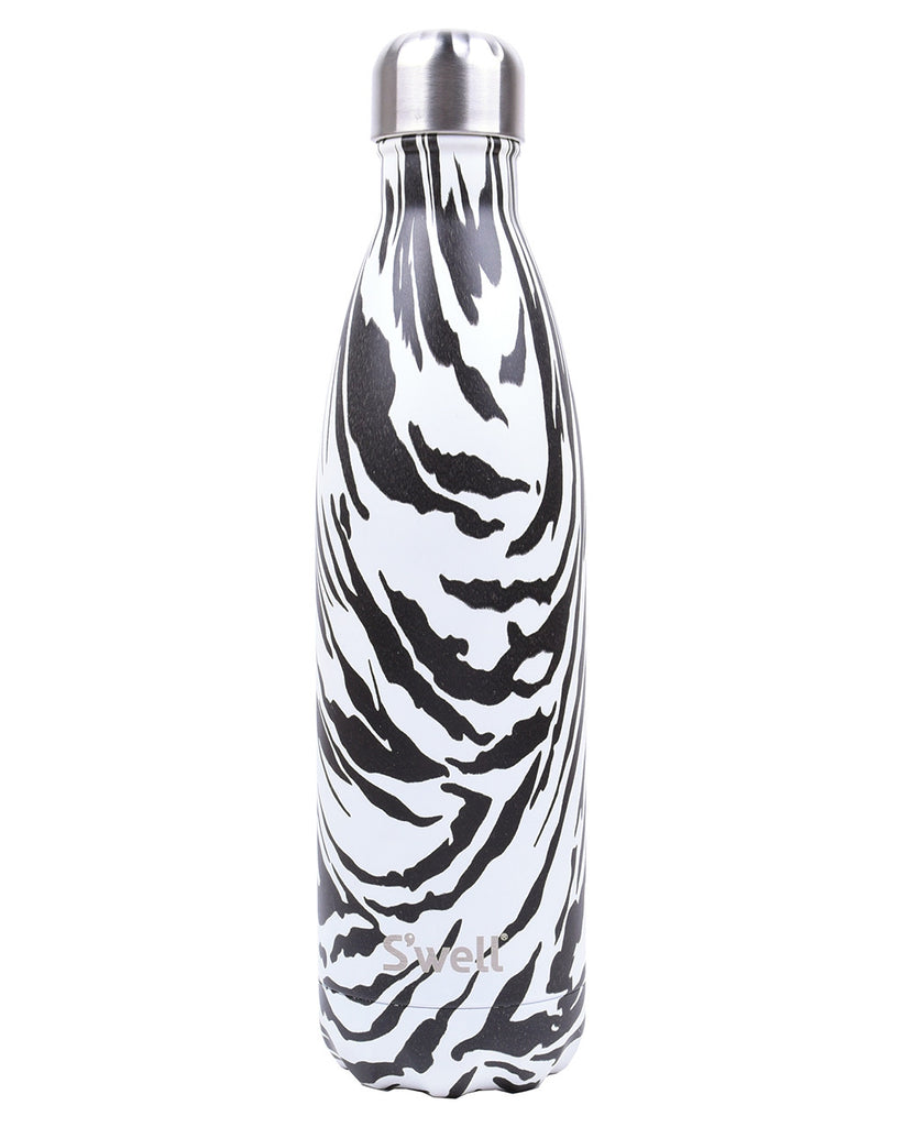Swell Noir Zebra Water Bottle - Hattan Home - 1