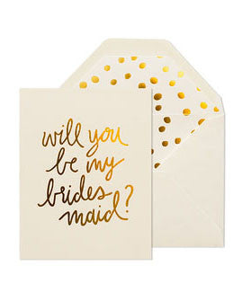 Sugar Paper Playful Bridesmaid Card - Hattan Home - 2